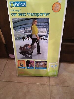 Brica Roll N Go Transporter Converts Car Seat To Stroller Airport