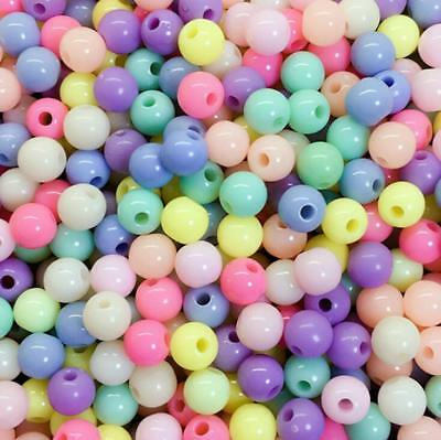 DIY Acrylic Round bead material Baby Pacifier chain clothing Jewelry Accessories
