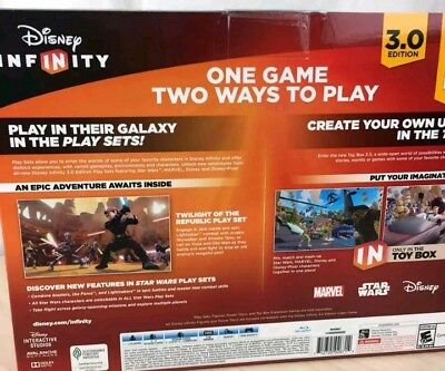 Disney Infinity 3.0 Edition Star Wars Starter Pack - PS3 Playstation 3 - New