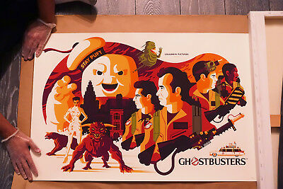 MONDO - GHOSTBUSTERS - TOM WHALEN 2018 SDCC Limited Print #304/375 AVAILABLE NOW