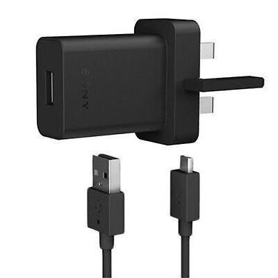 Genuine Fast Sony UCH-20 Mains Charger For Xperia X, XA, XA Ultra, E5, M5, Z5