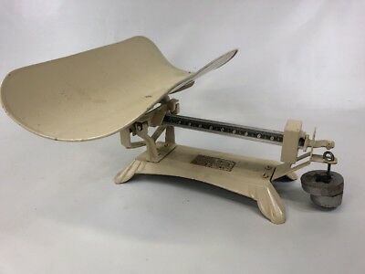 Vintage detecto Baby Scale Beam type Read 10lbs