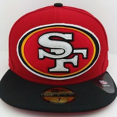 979cb306 SAN FRANCISCO 49ERS New Era 59FIFTY fitted/hat/cap/Niners/SF/Size 7 1/4