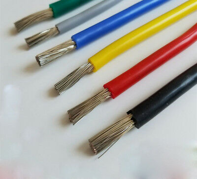 Flexible Silicone Wire Cable 10/12/14/16/18/20/22/24/26/28/30 AWG 600V 200℃