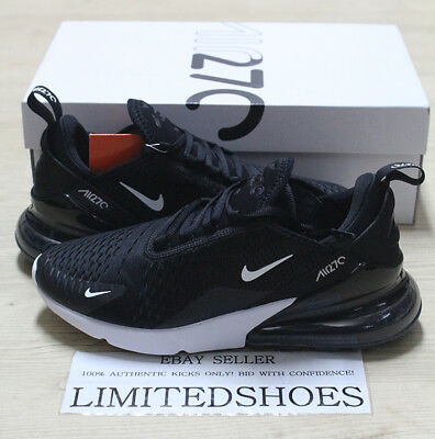 NIKE AIR MAX 270 BLACK WHITE SOLAR RED ANTHRACITE AH8050-002 Mens Running Shoes