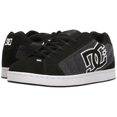 DC Net Suregrip Mens Black/Dark Sneakers