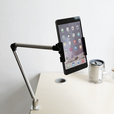 Mini iPad 360° Rotate Arm Desk Bed Holder Stand Lazy Table Mount Bracket