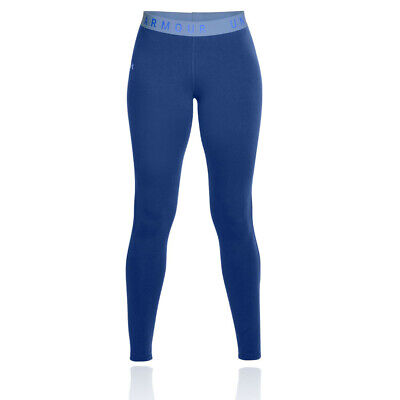 Under Armour Damen Favourite Leggings Fitnesshose Gym Jogging Blau Sport Laufen