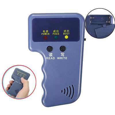 Portable Handheld Card Writer/Copier Duplicator for All 125KHz RFID Cards S0G5I