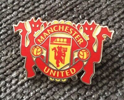 Manchester United Crest/Devil Pin Badge