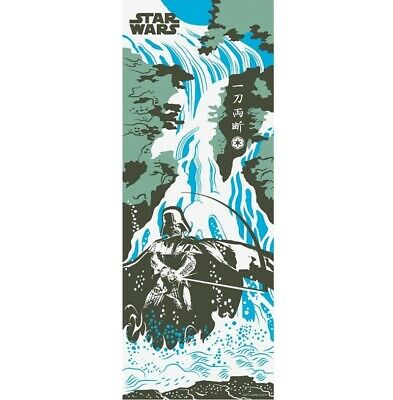 STAR WARS TENUGUI Japanese Cotton Fabric Hand Towel MADE IN JAPAN 90X34cm T32