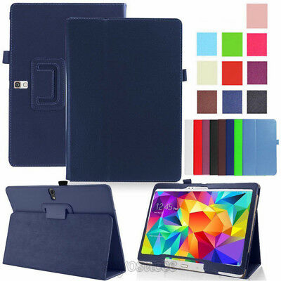 """For Samsung Galaxy Tab A6 10.1"""" T580 T585 Leather Tablet Stand Flip Cover Case"""