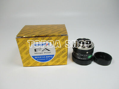 1PC Computar M1214-MP2 NEW 12mm 1:1.4 Industrial Camera Lens#SS