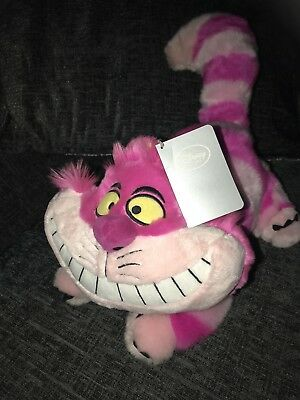 disneystore exclusive cheshire cat plush Alice In Wonderland Rare Stamped Versio