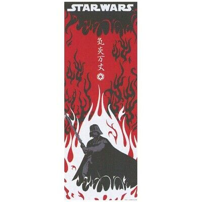 STAR WARS TENUGUI Japanese Cotton Fabric Hand Towel MADE IN JAPAN 90X34cm T23