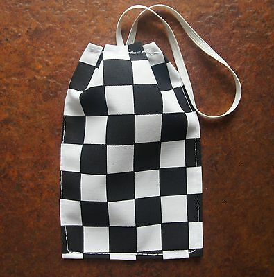 Black White Fancy Dress WPC Policewoman Police Scarf Costume Accessory