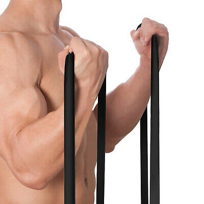 Exercise Bands Latex Resistance Stretching Band Pull Up Assist Bands Fitness lot