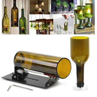 Glass Bottle Cutter Machine Recycle Tool Jar Kit Crafts Cutting Wine Beer Bottle