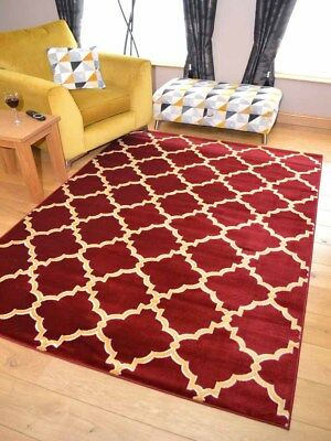 Modern Red Wine Gold Mustard Small Extra Large Medium Floor Carpet Mat Rug Cheap
