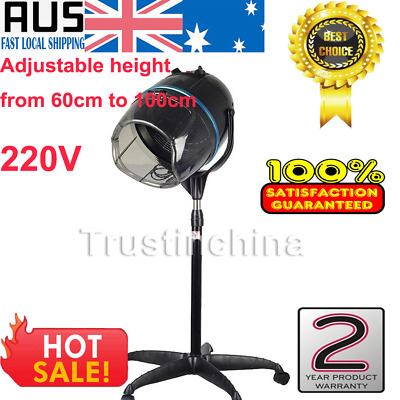 Free Standing Hair Dryer Hood Bonnet Stand Up | Height Adjustable Salon Quality