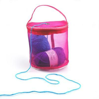 DIY Storage Knitting Crochet Needle Holder Case Yarn Wool Storage Bags Cotainer