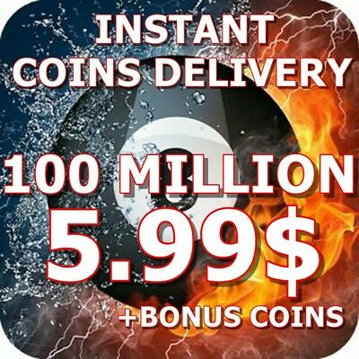 8 Ball Pool Coins 100 MILLION - INSTANT DELIVERY+BONUS COINS|TRANSFER OR NEW ACC