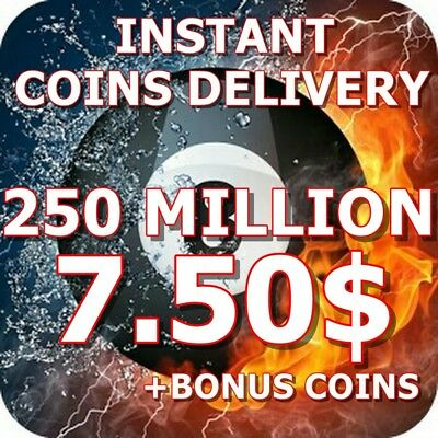 8 Ball Pool Coins 200 MILLION - INSTANT DELIVERY+BONUS COINS|TRANSFER OR NEW ACC