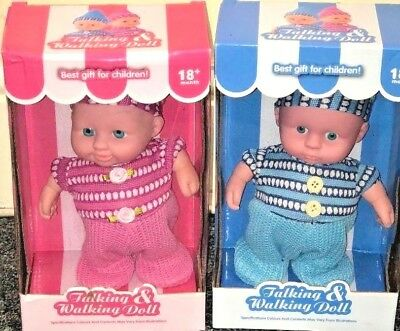 Lovely Talking & Walking Baby Dolls Great Gift For Children 18 Months+ UK Seller