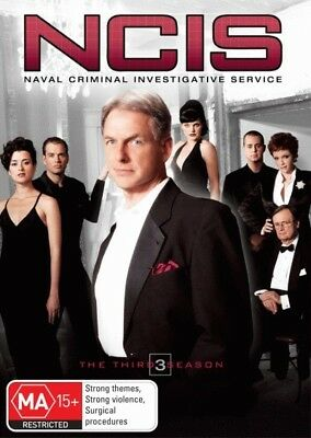NCIS: Season 3 = NEW DVD R4