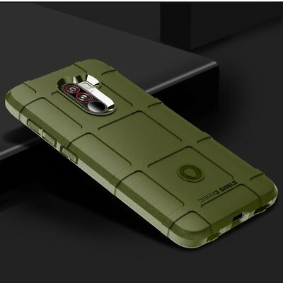 For Xiaomi Pocophone F1 Shockproof Full Cover Rugged Shield Soft Armor Case