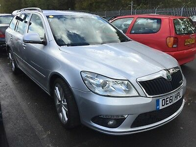 2012 Skoda Octavia 2.0 Tdi Cr Vrs Estate Manual - Leather, Alloys, Dual Climate
