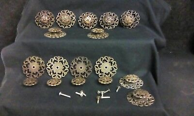 Antique Vintage Drawer Door Pulls Metal Decortive Brass