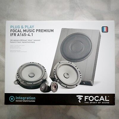 Kit haut parleur specifique Renault Focal music premium IFR A165-4.1 7711578133