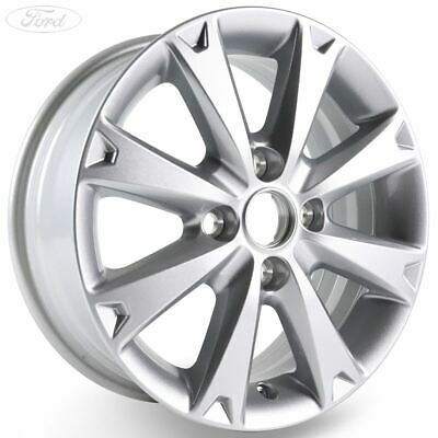Genuine Ford Fiesta Mk7 15 Alloy Wheel 8 Spoke Design Silver