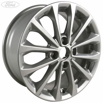 Genuine Ford Fiesta Mk7 Mk8 17 Alloy Wheel 8 Spoke Sparkle Silver