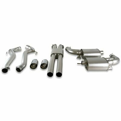Genuine Ford Mustang Sports Exhaust System ST/ST chromed twin tail pipes 2334524
