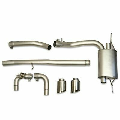 Remus Ford Focus RS ST/ST Sports Exhaust System Chromed Twin Tailpipe 2332731