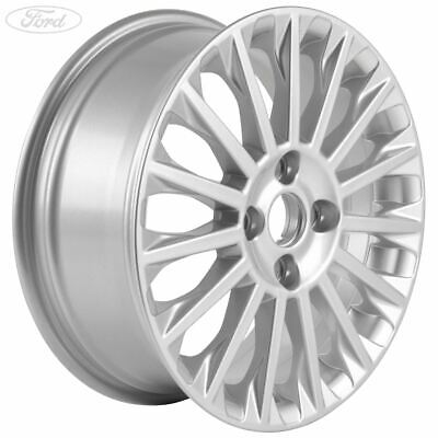 Genuine Ford Fiesta Mk7 16 Alloy Wheel 15 Spoke Design Silver