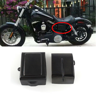 Battery Side Cover For Harley Dyna, Fat Bob, Street Bob, Wide Glide, Switchback