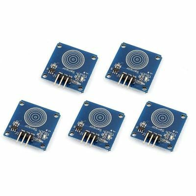 1X(5pcs TTP223B Digital Touch-Sensor Capacitive Touch-Switch Module For ArdF6G1)