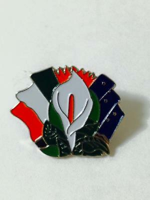 Easter Lily /& Emerald Isle 2Pc Set Lily w//Irelands Tri Color /& Starry Flags AOH
