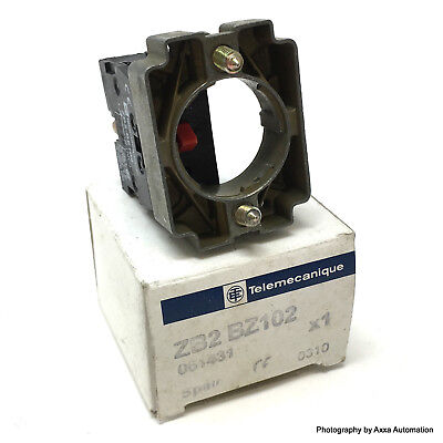 Body and Contact block ZB2BZ102 Telemecanique NC 061431