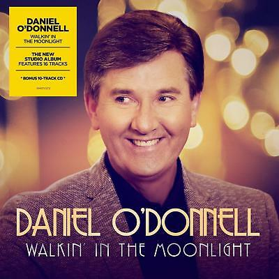 Daniel O'donnell Walkin' In The Moonlight 2 Cd - Pre Release 30Th November 2018