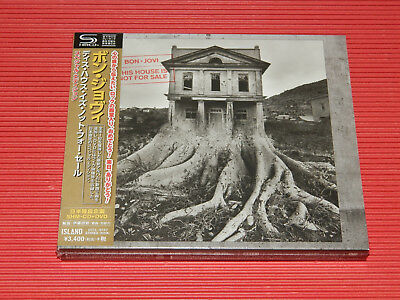 2018 Bon Jovi This House Is Not For Sale Special Edition Japan Shm Cd + Dvd