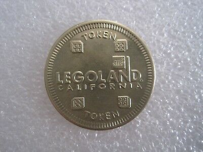 Legoland California Resort Carlsbad California Token Coin