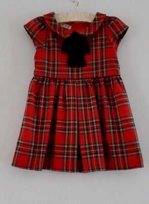 NEXT Girls Red Checked Party Dress Christmas?__18-24 Months / EUR 92