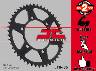 JT Rear Sprocket 41T 520P High Carbon Steel for Yamaha Motorcycles