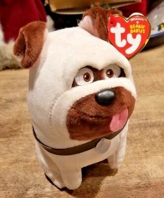 NEW TY The Secret LIFE OF PETS - Cute Funny Mel Dog Plush Toy