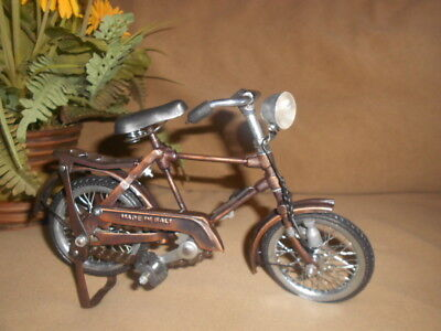 """Vintage 10"""" Handmade Nostalgia old-fashioned Bicycle Bike Model Collectible"""
