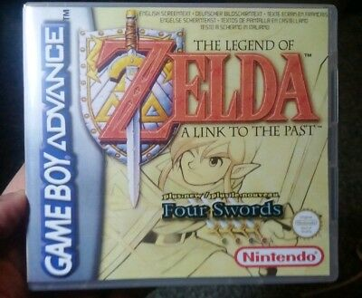 Nintendo Game Boy Advance GBA Replacement Case The Legend of Zelda: A Link to th